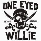 One Eyed Willie by DetourShirts