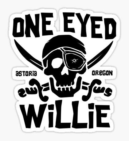 One Eyed Willie Sticker