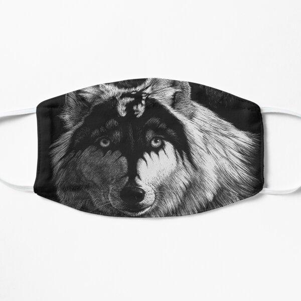 DRAGON WOLF Flat Mask