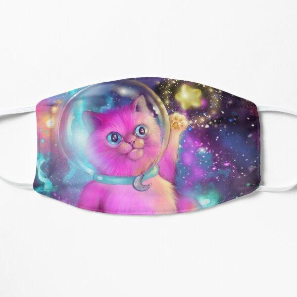 Cat-ra-naut Flat Mask