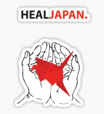 Heal Japan #1 Sticker