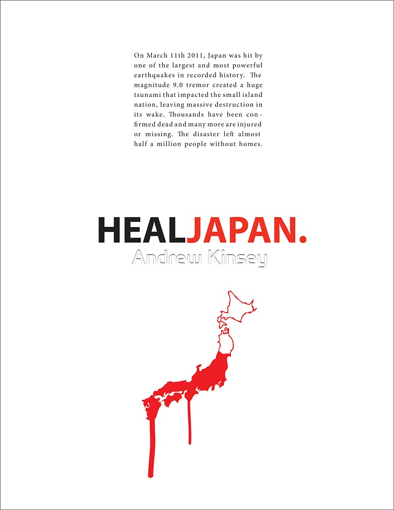 Heal Japan #2 by Andrew Kinsey