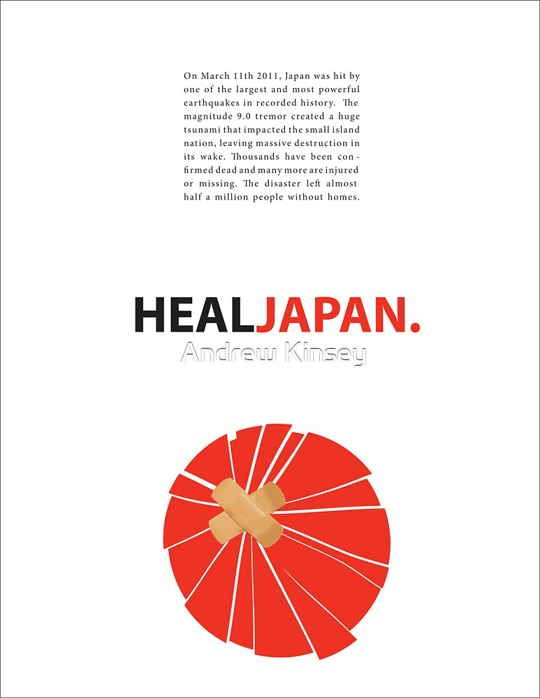 Heal Japan #3 by Andrew Kinsey