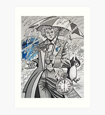 The Sixth Doctor Art Print
