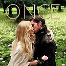 Captain Swan Camelot Garden Digital Watercolor Design 2 by Marianne Paluso