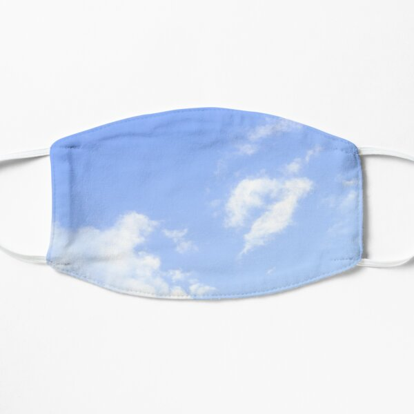 sky aesthetic Flat Mask