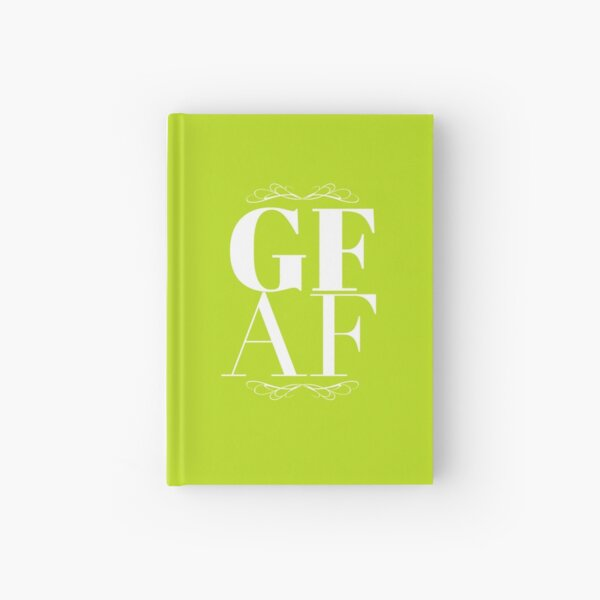 Gluten Free AF Hardcover Journal