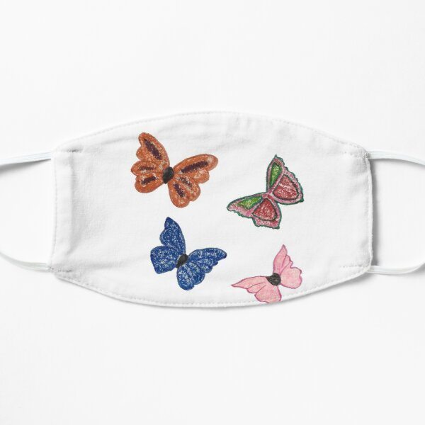 Butterfly Rainbow Small Mask