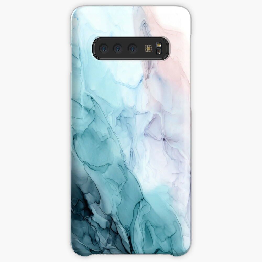 Beachy Pastel Flowing Ombre Abstract 1 Case & Skin for Samsung Galaxy