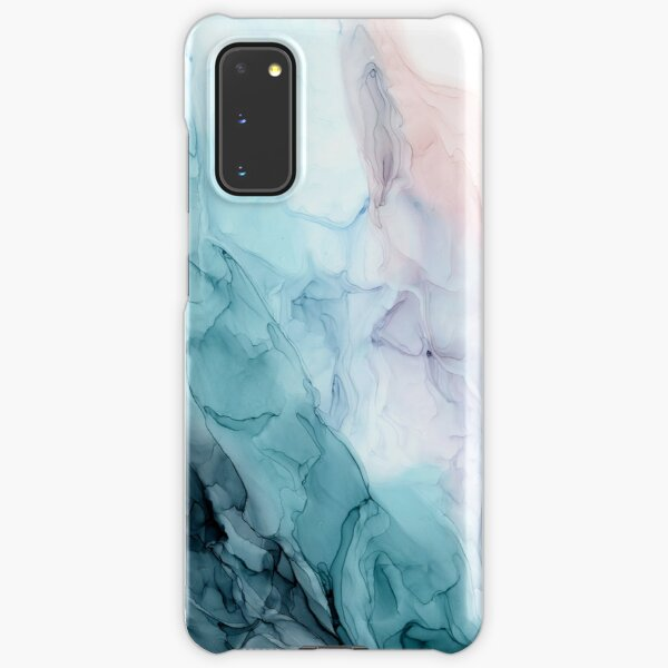 Beachy Pastel Flowing Ombre Abstract 1 Samsung Galaxy Snap Case