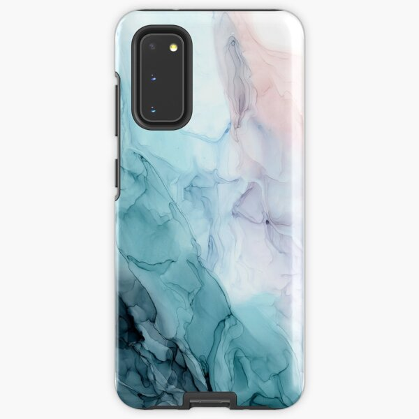 Beachy Pastel Flowing Ombre Abstract 1 Samsung Galaxy Tough Case