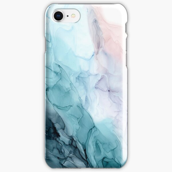 Beachy Pastel Flowing Ombre Abstract 1 iPhone Snap Case