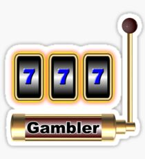 gambler Sticker