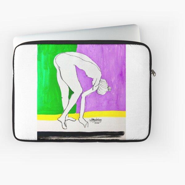 New nude pose design  Laptop Sleeve