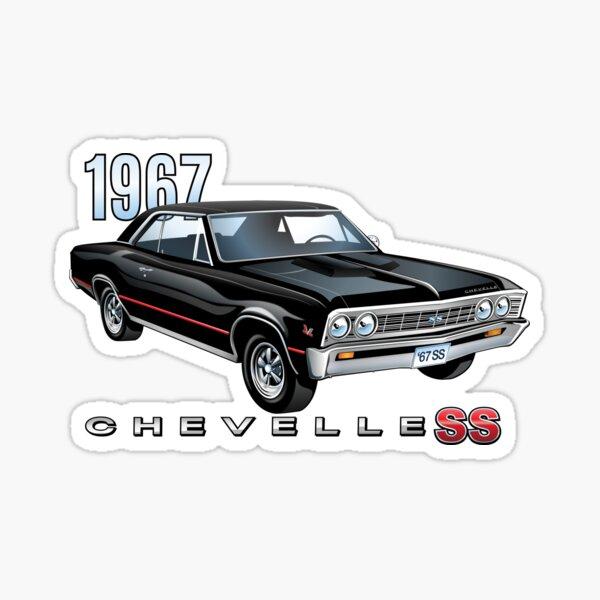 1967 Cherolet Chevelle Super Sport Sticker