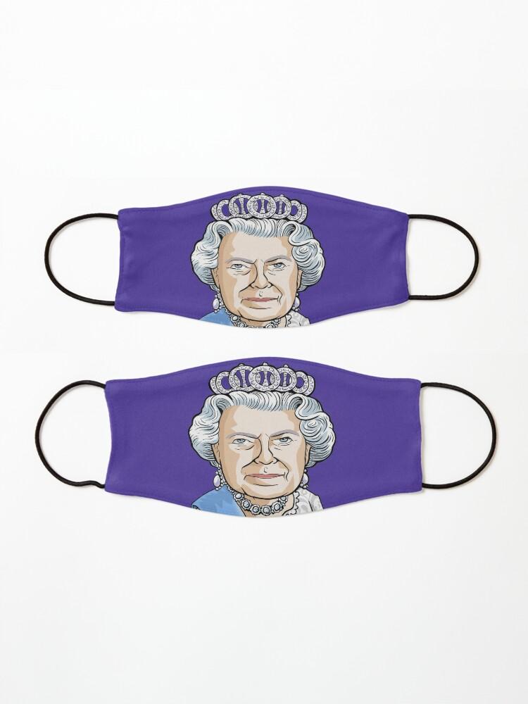 Alternate view of Queen Elizabeth II Mask