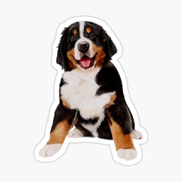 Bernese Mountain Dog Sticker Sticker