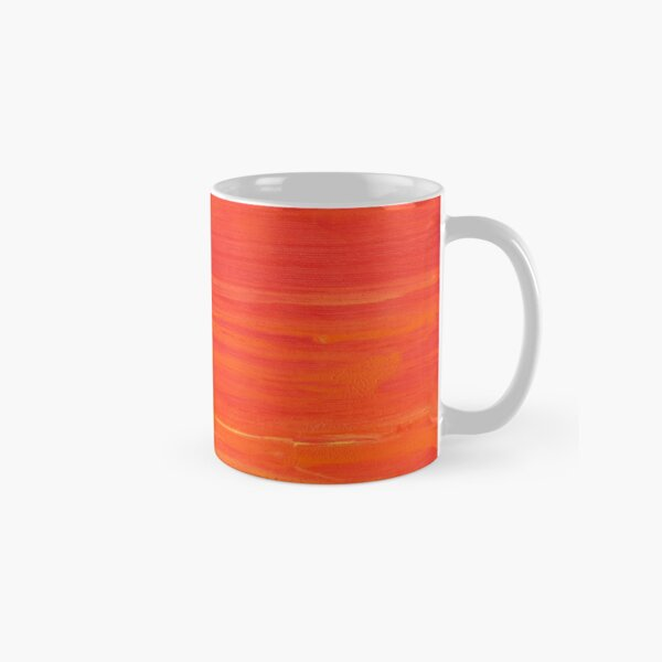 Red Chili Pepper Abstract Painting Picture Classic Mug