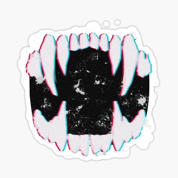 Fangs Sticker