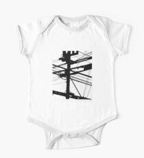 Power Lines One Piece - Short Sleeve