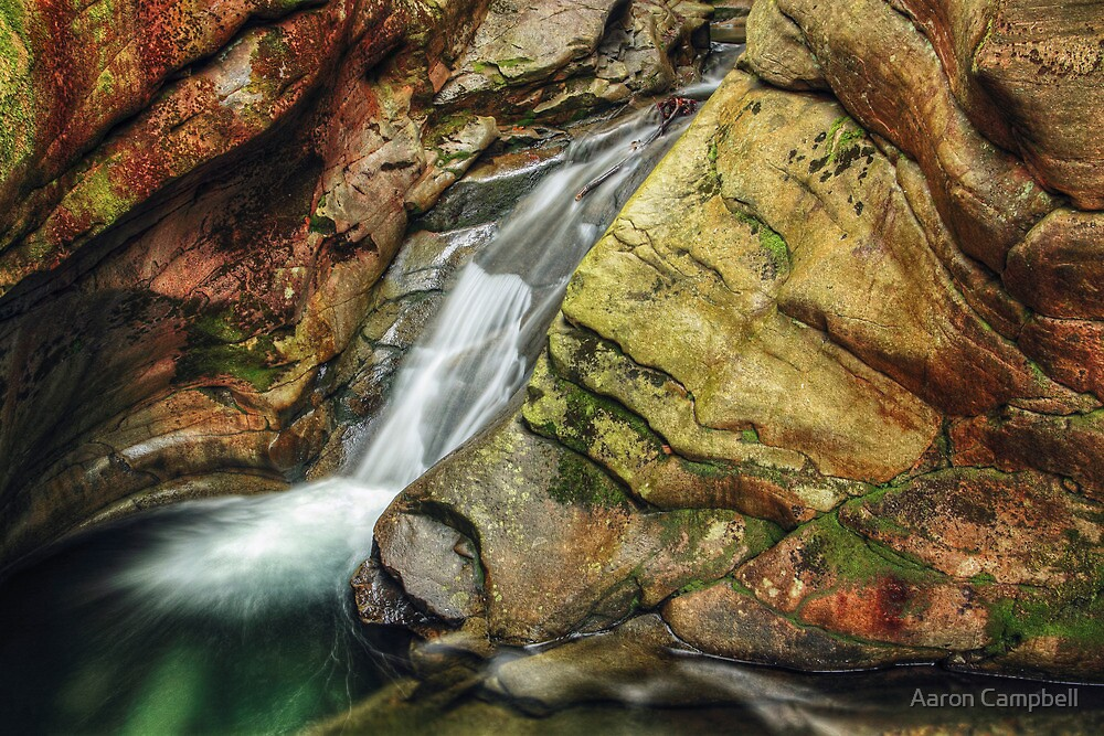 The Water Chute April 2012 by Aaron Campbell