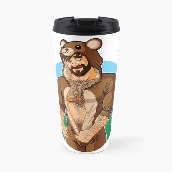ADAM LIKES TEDDY BEARS Travel Mug