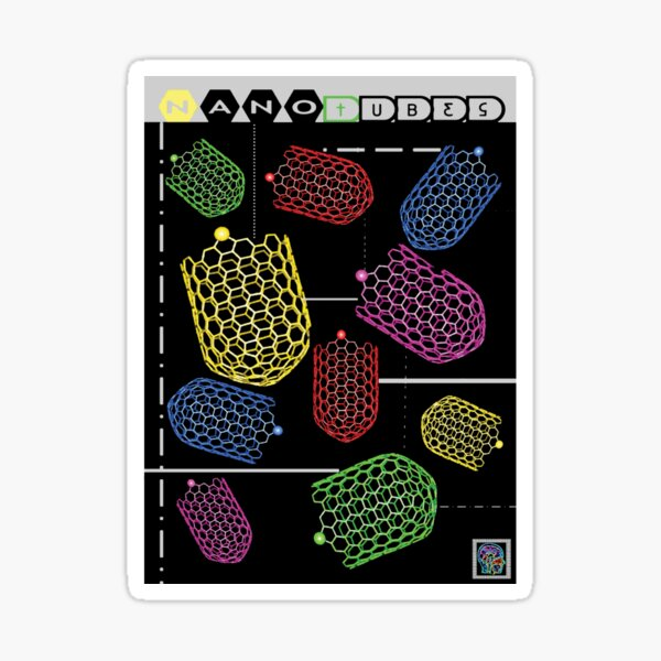 """Sheldon Wears Nanotubes""© Sticker"