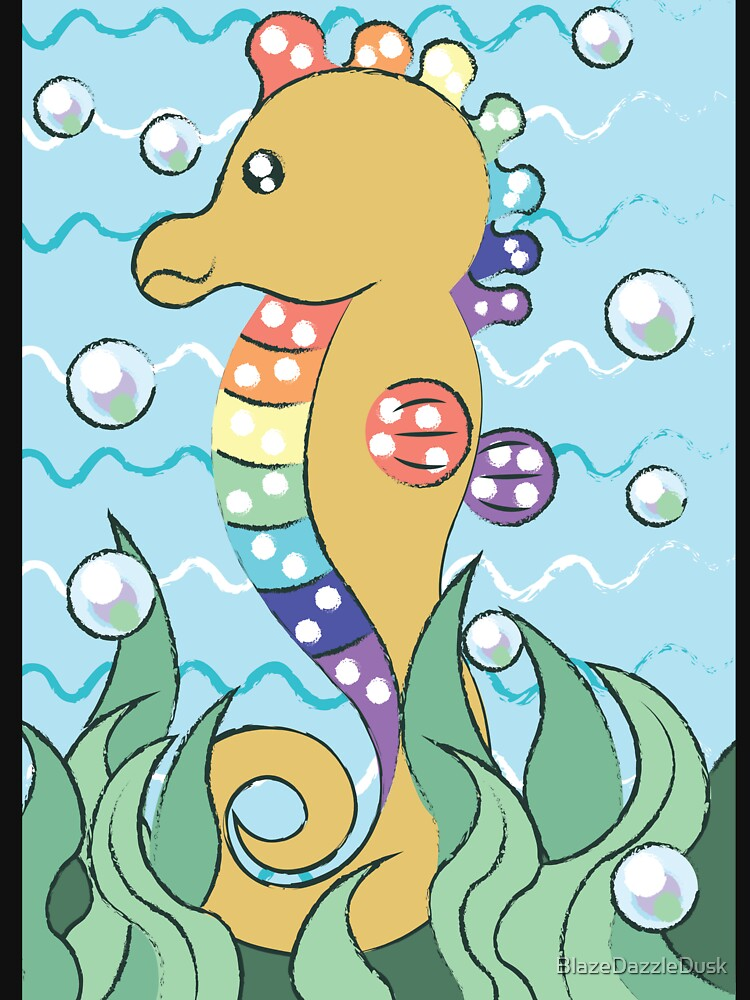 Seahorse by BlazeDazzleDusk