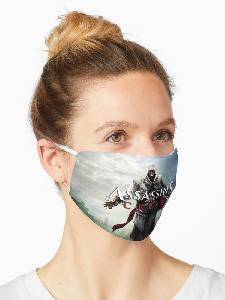 Assassin S Creed Mask By Kudanmedia Redbubble