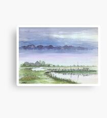 TRANQUIL BEAUTY - AQUAREL Metal Print