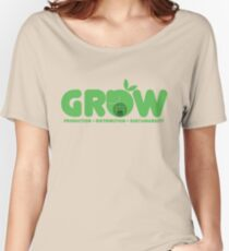 Oxfam: Grow  Women's Relaxed Fit T-Shirt