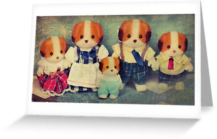 Chiffon Dog Family by Tangerine-Tane