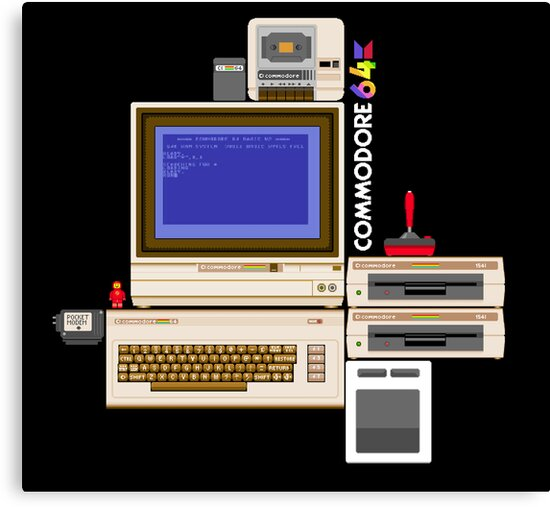 Hail the Commodore 64 by carljagt