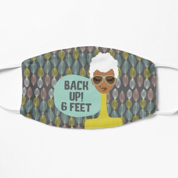 Back Up! 6 Feet Mask