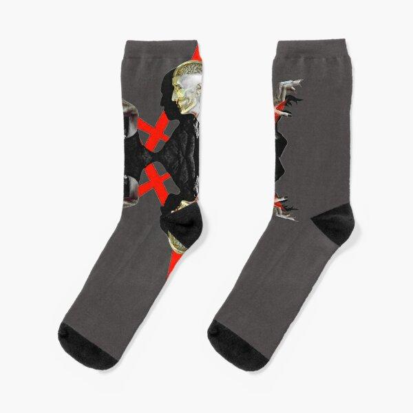 Universal Hex-agram Socks