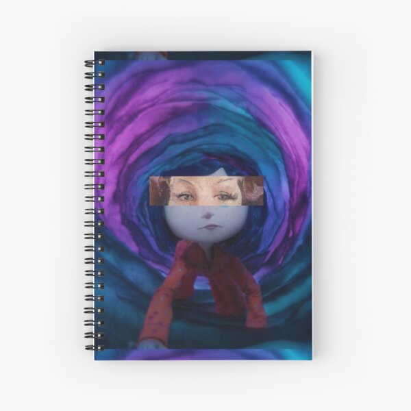 Coraline Spiral Notebooks Redbubble