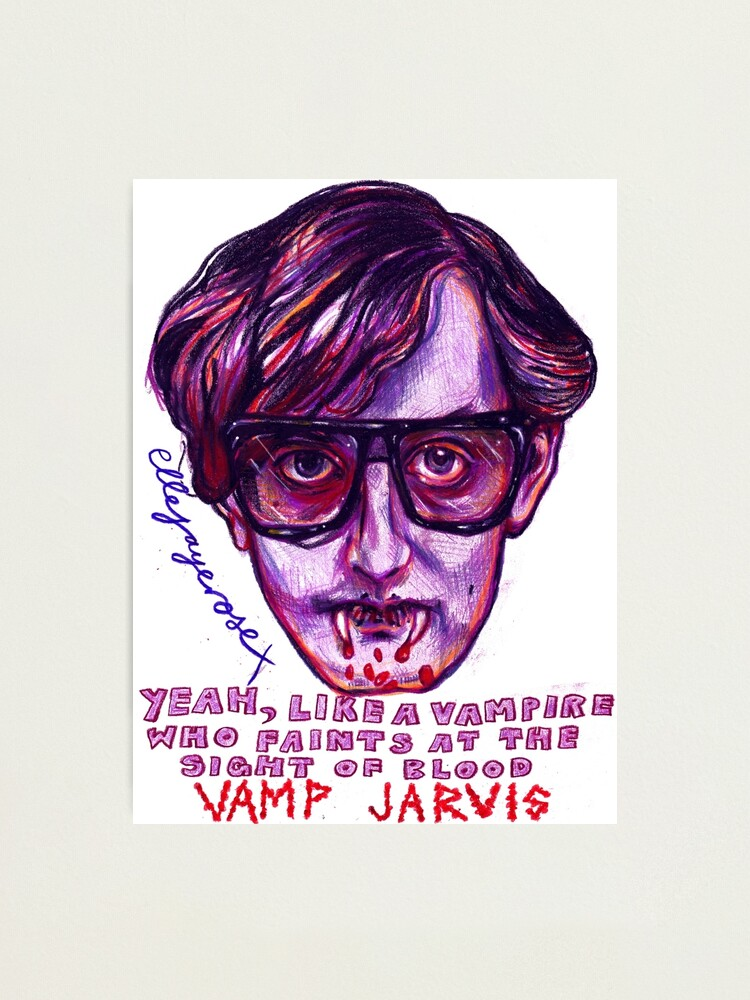 Vamp Jarvis Photographic Print By Ellejayerose Redbubble