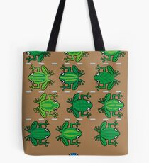 Revenge of the Frogs Tote Bag