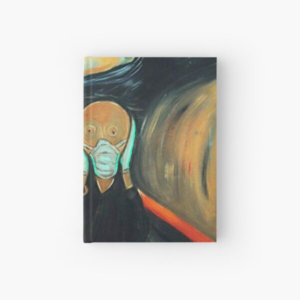 Safe Scream Hardcover Journal