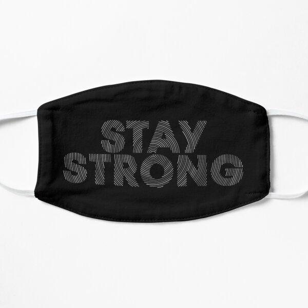 Stay Strong T-Shirt Gym sticker Motivation Shirt Mask