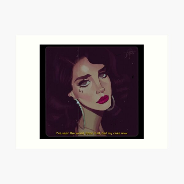 Young and Beautiful Art Print