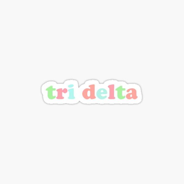 tri delta!! Sticker