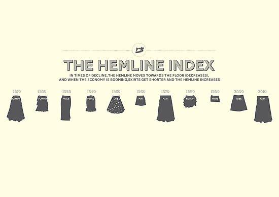 The Hemline Index by Stephen Wildish