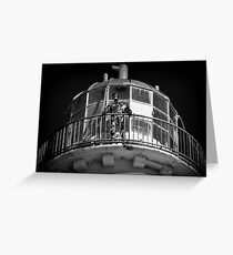 Talacre Metal Lighthouse ' Keeper ' Greeting Card