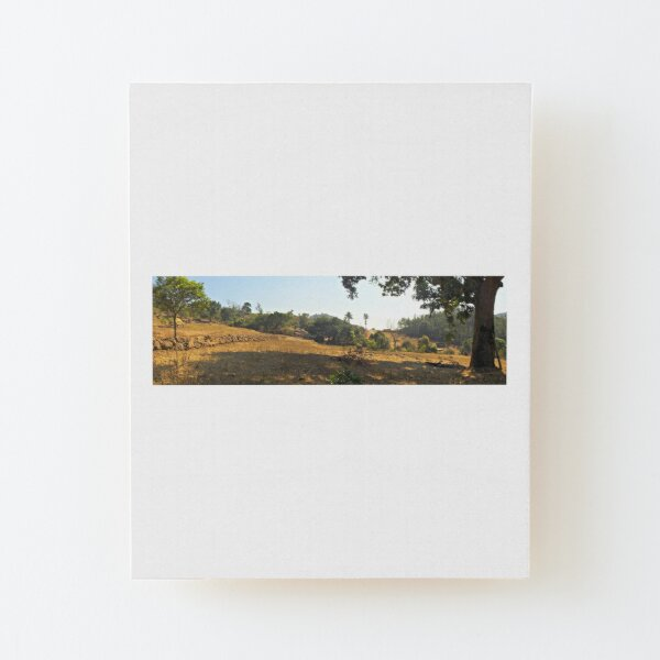 Sunshine in Araku Wood Mounted Print