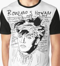 Rowland S. Howard Tribute Graphic T-Shirt