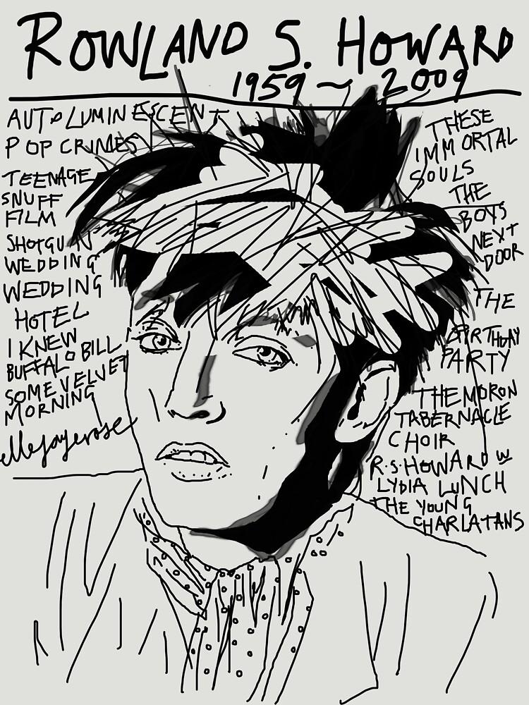 Rowland S. Howard Tribute by ellejayerose