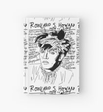 Rowland S. Howard Tribute Hardcover Journal