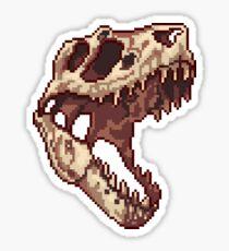 Pegatina Tiny T-Rex skull