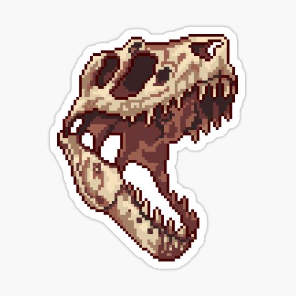 Tiny T-Rex skull  Sticker